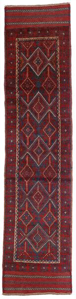 Kelim Golbarjasta Teppe 57X248 Ekte Orientalsk Håndvevd Teppeløpere Mørk Rød/Mørk Lilla (Ull, Afghanistan)
