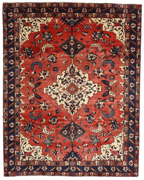 Bakhtiar Teppe 249X317 Ekte Orientalsk Håndknyttet Mørk Grå/Rust/Mørk Rød (Ull, Persia/Iran)