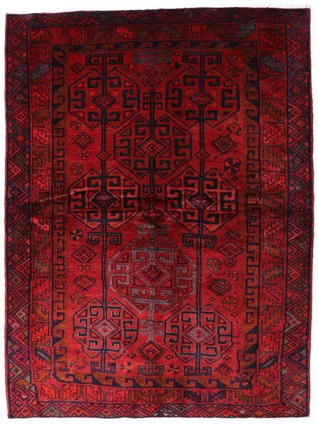 Lori Teppe 174X230 Ekte Orientalsk Håndknyttet Mørk Rød (Ull, Persia/Iran)
