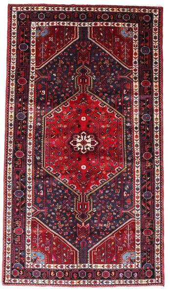 Hamadan Teppe 145X256 Ekte Orientalsk Håndknyttet Mørk Rød (Ull, Persia/Iran)