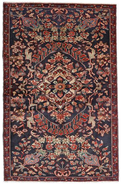 Bakhtiar Teppe 133X205 Ekte Orientalsk Håndknyttet Mørk Grå/Mørk Rød (Ull, Persia/Iran)