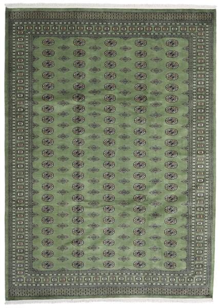 Pakistan Bokhara 2Ply Teppe 250X344 Ekte Orientalsk Håndknyttet Mørk Grå/Olivengrønn Stort (Ull, Pakistan)