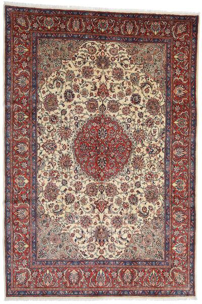 Sarough Teppe 273X404 Ekte Orientalsk Håndknyttet Mørk Rød/Mørk Brun Stort (Ull, Persia/Iran)