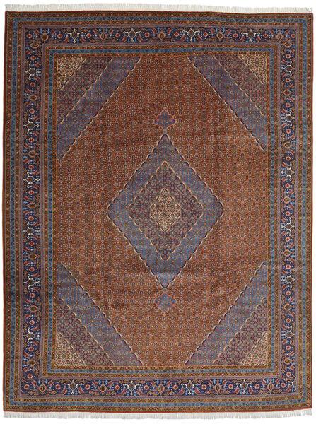 Ardebil Teppe 294X385 Ekte Orientalsk Håndknyttet Mørk Rød/Mørk Brun/Mørk Grå Stort (Ull, Persia/Iran)