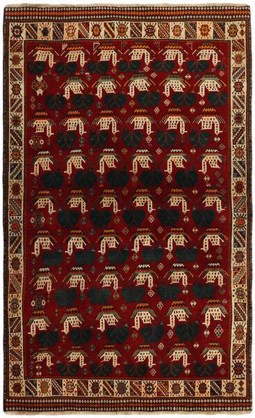 Ghashghai Teppe 118X194 Ekte Orientalsk Håndknyttet Rød/Mørk Rød (Ull, Persia/Iran)