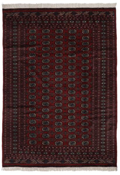 Pakistan Bokhara 2Ply Teppe 184X262 Ekte Orientalsk Håndknyttet Svart (Ull, Pakistan)
