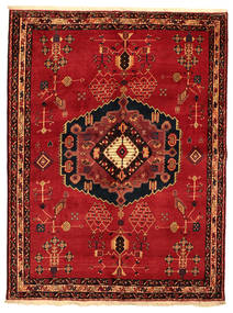 Afshar Teppe 176X232 Ekte Orientalsk Håndknyttet (Ull, Persia/Iran)