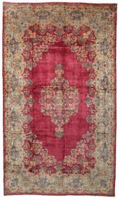 Kerman Teppe 328X560 Ekte Orientalsk Håndknyttet Rød/Lysbrun Stort (Ull, Persia/Iran)