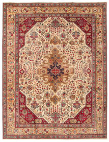 Tabriz Patina Teppe 260X344 Ekte Orientalsk Håndknyttet Stort (Ull, Persia/Iran)