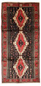 Kurdi Teppe 150X318 Ekte Orientalsk Håndknyttet Mørk Brun/Svart (Ull, Persia/Iran)