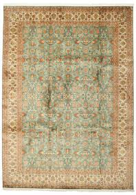 Kashmir Ren Silke Teppe 223X313 Ekte Orientalsk Håndknyttet (Silke, India)