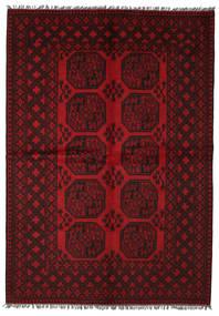 Afghan Teppe 163X236 Ekte Orientalsk Håndknyttet (Ull, Afghanistan)