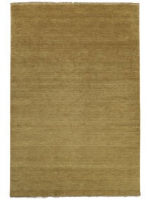 Handloom Fringes - Olivengrønn Teppe 160X230 Moderne Olivengrønn (Ull, India)