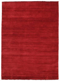 Handloom Fringes - Mørk Rød Teppe 160X230 Moderne Rød (Ull, India)