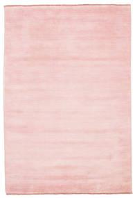 Handloom Fringes - Pink Teppe 160X230 Moderne Lyserosa (Ull, India)
