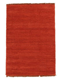 Handloom Fringes - Rust/Rød Teppe 140X200 Moderne Rust (Ull, India)