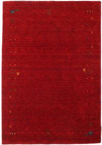 Gabbeh Loom Frame - Rød Teppe 140X200 Moderne Mørk Rød/Rød (Ull, India)