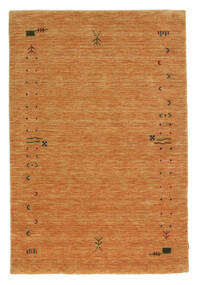 Gabbeh Loom Frame - Oransje Teppe 120X180 Moderne Orange (Ull, India)