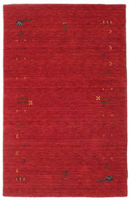 Gabbeh Loom Frame - Rust Rød Teppe 100X160 Moderne Rød (Ull, India)