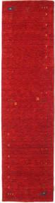 Gabbeh Loom Frame - Rød Teppe 80X300 Moderne Teppeløpere Rød (Ull, India)