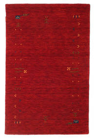 Gabbeh Loom Frame - Rød Teppe 100X160 Moderne Rød/Mørk Rød (Ull, India)