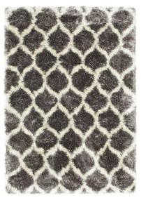 Berber Style Shaggy Regal - Grå/Beige Teppe 160X230 Moderne ( Tyrkia)