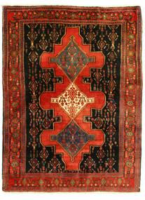 Senneh Teppe 126X175 Ekte Orientalsk Håndknyttet (Ull, Persia/Iran)