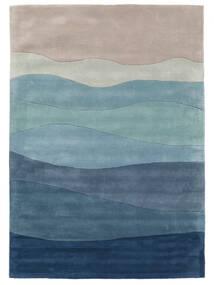 Feeling Handtufted - Blå Teppe 160X230 Moderne Lys Blå/Lys Grå/Blå (Ull, India)