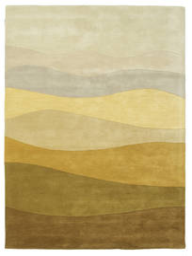 Feeling Handtufted - Brun Teppe 160X230 Moderne Mørk Beige/Olivengrønn (Ull, India)