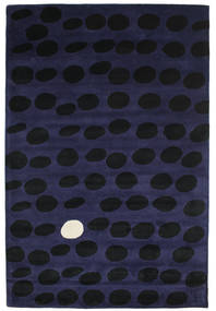 Camouflage Handtufted - Mørk Teppe 200X300 Moderne Svart/Mørk Blå (Ull, India)