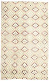 Colored Vintage Teppe 182X298 Ekte Moderne Håndknyttet Beige/Mørk Beige (Ull, Tyrkia)