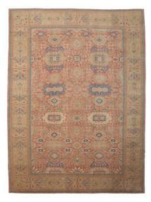 Egypt Teppe 418X559 Ekte Orientalsk Håndknyttet Brun/Mørk Rød Stort (Ull, Egypt)
