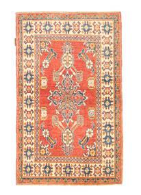 Kazak Teppe 89X144 Ekte Orientalsk Håndknyttet (Ull, Afghanistan)