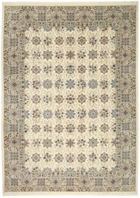 Ilam Sherkat Farsh Silke Teppe 250X350 Ekte Orientalsk Håndknyttet Lys Grå/Beige Stort (Ull/Silke, Persia/Iran)