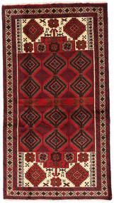 Beluch Teppe 106X195 Ekte Orientalsk Håndknyttet Mørk Rød/Mørk Brun (Ull, Persia/Iran)