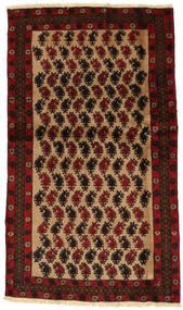 Beluch Teppe 100X173 Ekte Orientalsk Håndknyttet Mørk Rød/Mørk Brun (Ull, Persia/Iran)