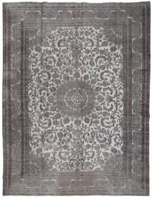 Colored Vintage Teppe 291X380 Ekte Moderne Håndknyttet Mørk Grå/Lys Grå Stort (Ull, Persia/Iran)
