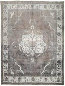 Colored Vintage Teppe 297X393 Ekte Moderne Håndknyttet Lys Grå/Mørk Grå Stort (Ull, Persia/Iran)