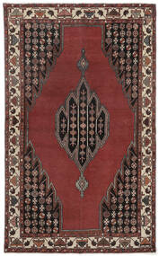Lillian Patina Teppe 132X215 Ekte Orientalsk Håndknyttet Mørk Brun/Mørk Rød (Ull, Persia/Iran)