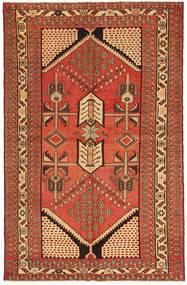 Saveh Patina Teppe 135X208 Ekte Orientalsk Håndknyttet Rød/Brun (Ull, Persia/Iran)