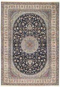 Nain 6La Teppe 218X322 Ekte Orientalsk Håndknyttet (Ull/Silke, Persia/Iran)