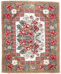 Rosekelim Moldavia Teppe 177X213 Ekte Orientalsk Håndvevd Lysbrun/Mørk Brun (Ull, Moldova)