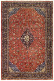 Sarough Old Teppe 404X600 Ekte Orientalsk Håndknyttet Mørk Rød/Mørk Brun Stort (Ull, Persia/Iran)