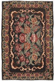 Rosekelim Moldavia Teppe 186X280 Ekte Orientalsk Håndvevd Mørk Brun/Mørk Rød (Ull, Moldova)