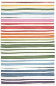 Rainbow Stripe - Vit Teppe 250X300 Ekte Moderne Håndvevd Hvit/Creme Stort (Bomull, India)