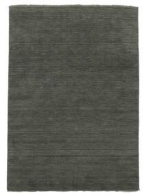 Handloom Fringes - Mørk Grå Teppe 250X350 Moderne Mørk Grå Stort (Ull, India)
