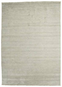 Handloom Fringes - Grå/Lys Grønn Teppe 250X350 Moderne Lys Grå/Lysbrun Stort (Ull, India)