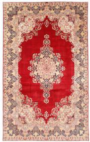 Kerman Teppe 377X620 Ekte Orientalsk Håndknyttet Rust/Beige Stort (Ull, Persia/Iran)