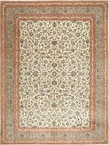 Kashmar Patina Teppe 297X393 Ekte Orientalsk Håndknyttet Mørk Beige/Lysbrun Stort (Ull, Persia/Iran)