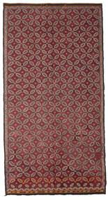Kelim Halvt Antikke Tyrkiske Teppe 178X335 Ekte Orientalsk Håndvevd Mørk Rød/Rosa (Ull, Tyrkia)